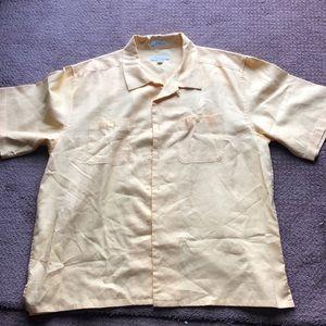 Visitor men's linen button down